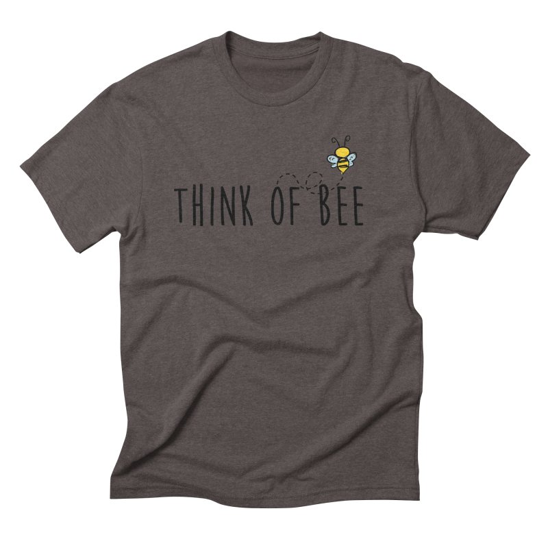 Think of Bee *Black* Men's Triblend T-Shirt by uppercaseCHASE1