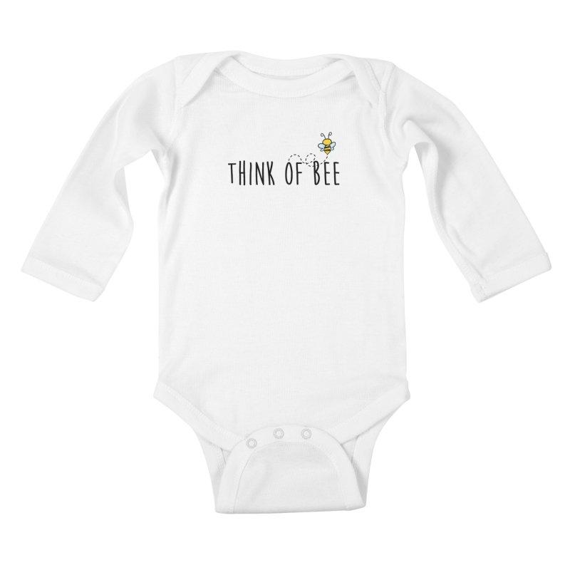 Think of Bee *Black* Kids Baby Longsleeve Bodysuit by uppercaseCHASE1