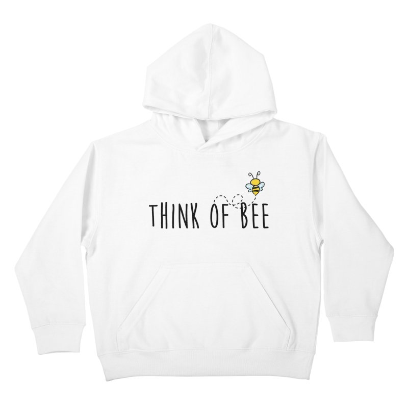 Think of Bee *Black* Kids Pullover Hoody by uppercaseCHASE1