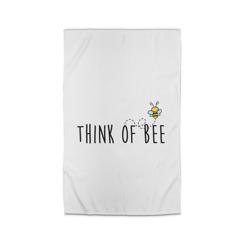 Think of Bee *Black* Home Rug by uppercaseCHASE1