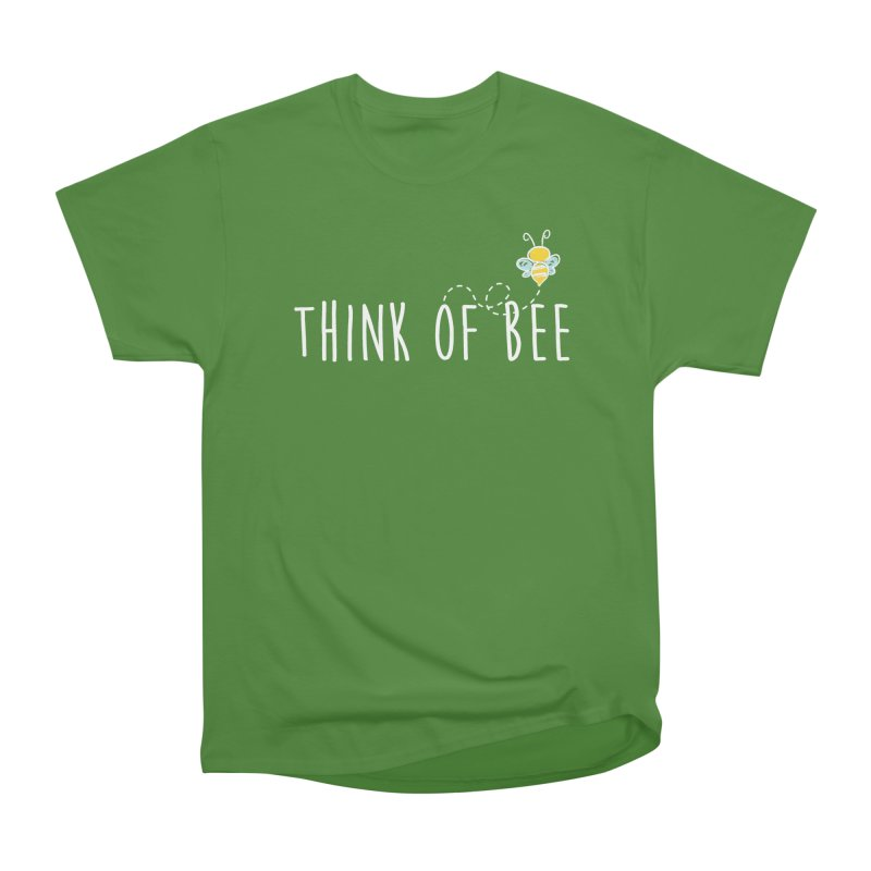 Think of Bee *White Font* Men's Classic T-Shirt by uppercaseCHASE1