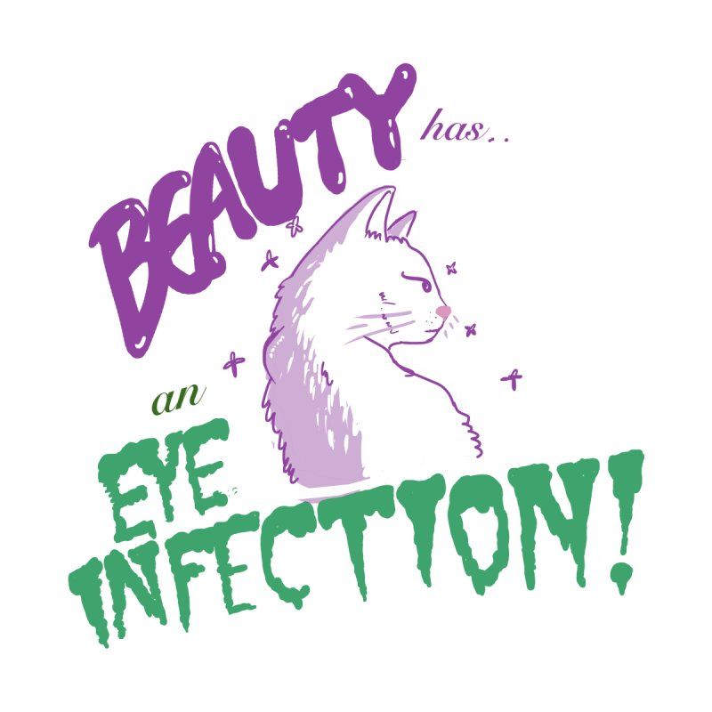 Beauty has an Eye Infection Kids Toddler Longsleeve T-Shirt by uppercaseCHASE1