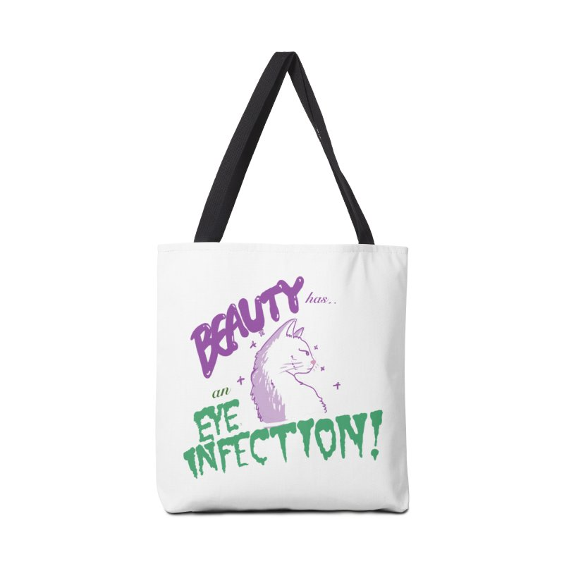 Beauty has an Eye Infection Accessories Bag by uppercaseCHASE1
