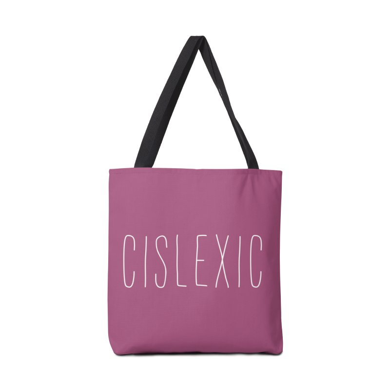 Cislexic Accessories Bag by uppercaseCHASE1