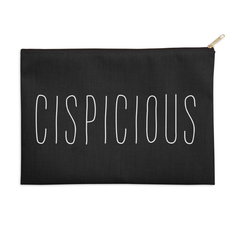 CISPICIOUS Accessories Zip Pouch by uppercaseCHASE1
