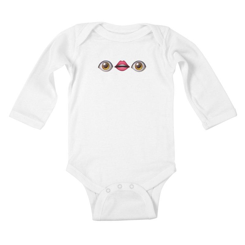 Eyes Kids Baby Longsleeve Bodysuit by uppercaseCHASE1