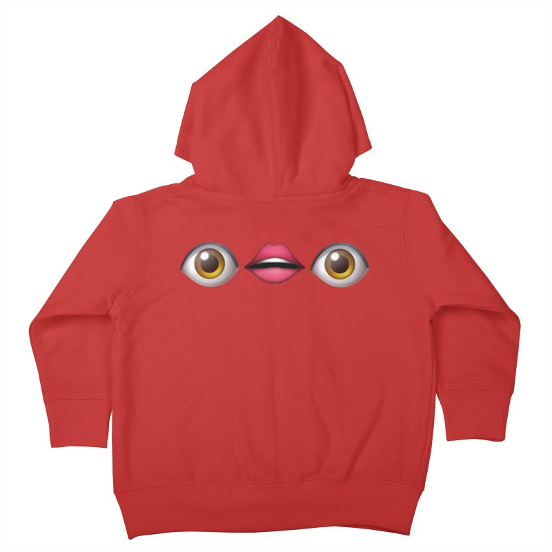 Eyes Kids Toddler Zip-Up Hoody by uppercaseCHASE1