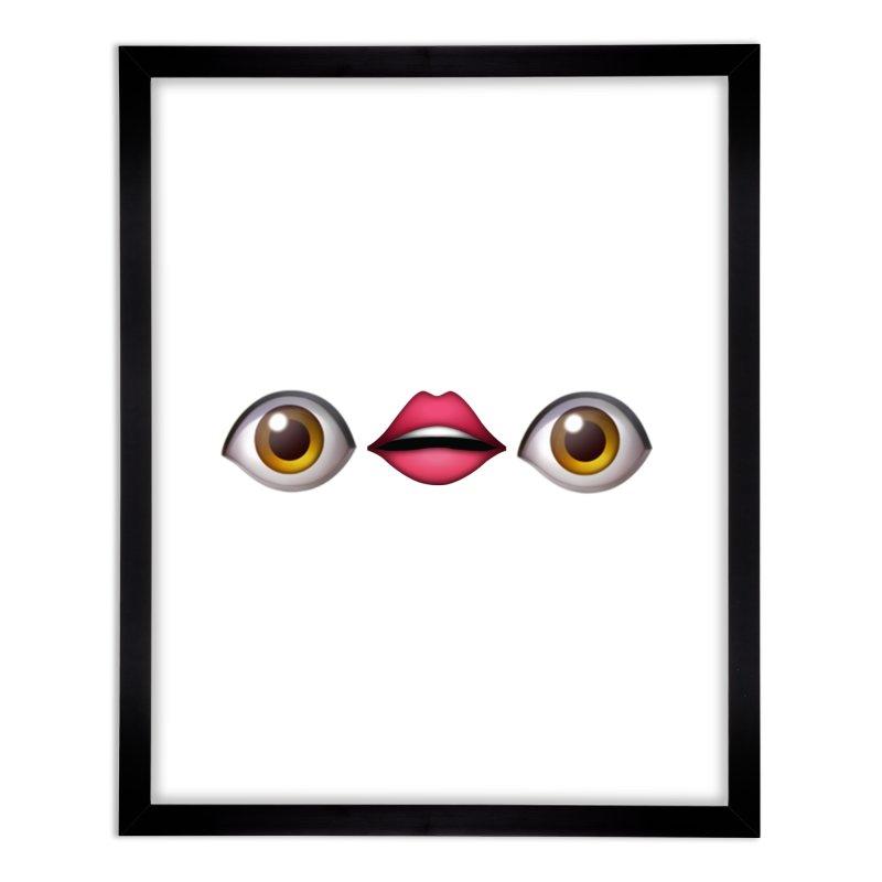 Eyes Home Framed Fine Art Print by uppercaseCHASE1