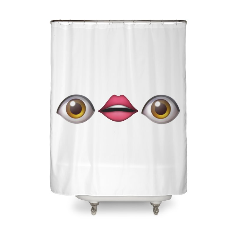 Eyes Home Shower Curtain by uppercaseCHASE1
