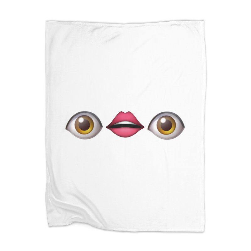 Eyes Home Blanket by uppercaseCHASE1