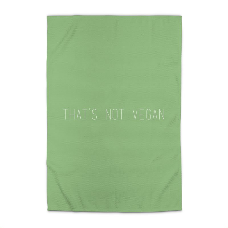 That's Not Vegan Home Rug by uppercaseCHASE1
