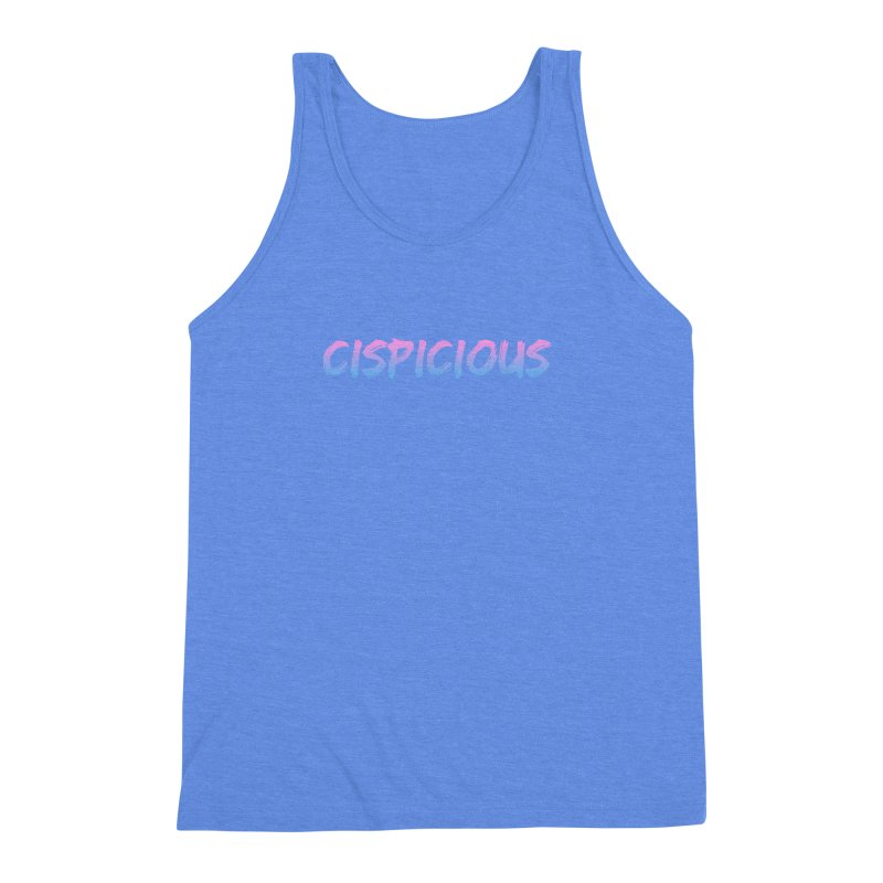 CISPICIOUS Men's Triblend Tank by uppercaseCHASE1