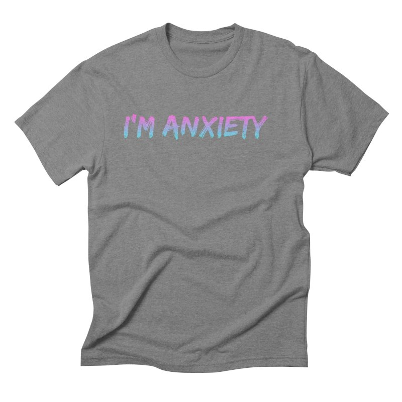I'M ANXIETY (TRAN) Men's Triblend T-Shirt by uppercaseCHASE1