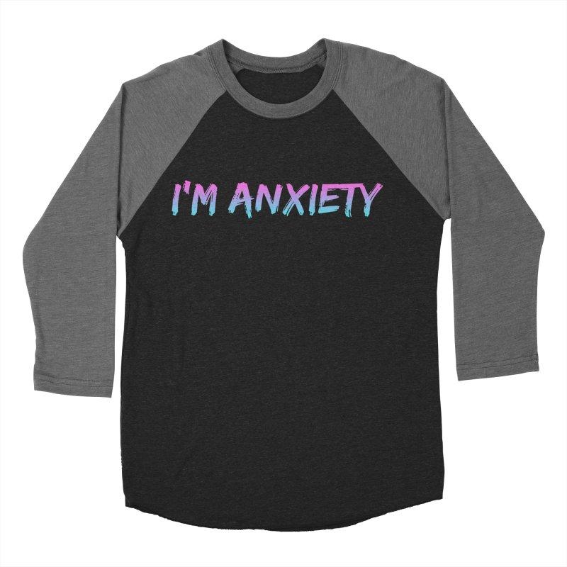 I'M ANXIETY (TRAN) Men's Baseball Triblend Longsleeve T-Shirt by uppercaseCHASE1