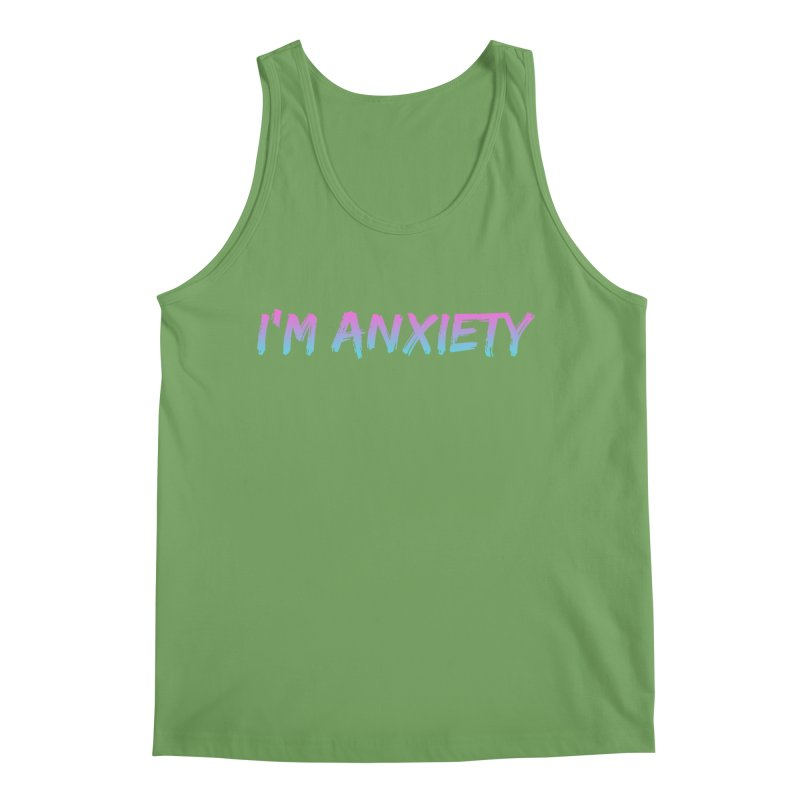 I'M ANXIETY (TRAN) Men's Tank by uppercaseCHASE1