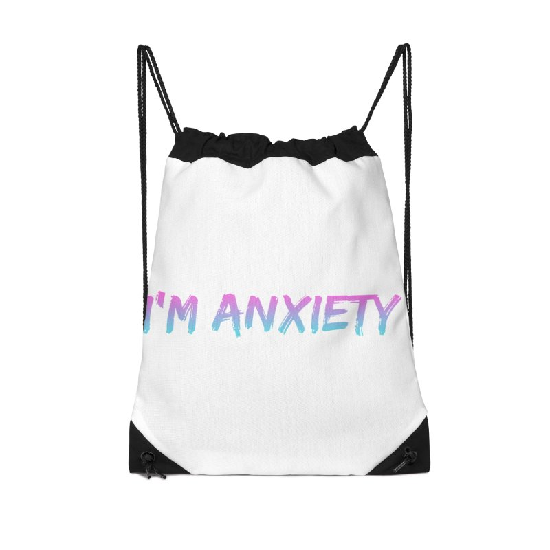 I'M ANXIETY (TRAN) Accessories Bag by uppercaseCHASE1