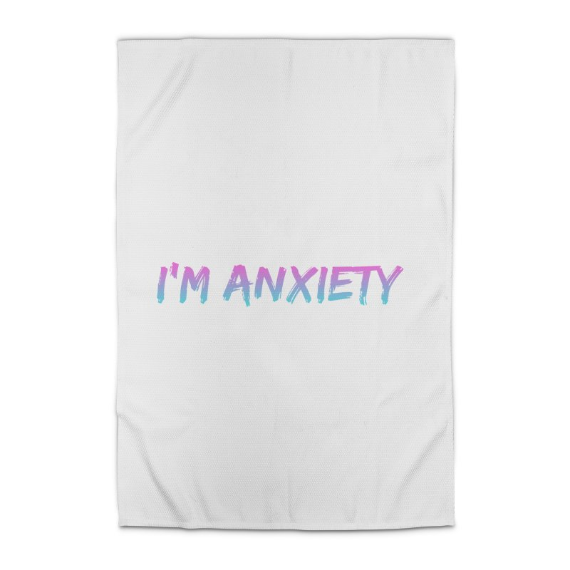 I'M ANXIETY (TRAN) Home Rug by uppercaseCHASE1