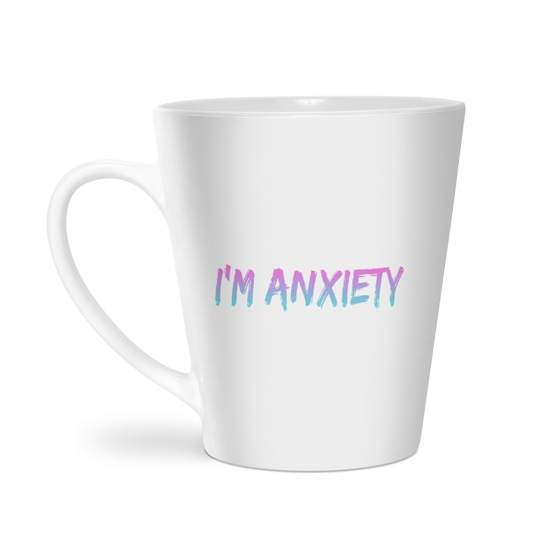 I'M ANXIETY (TRAN) Accessories Latte Mug by uppercaseCHASE1