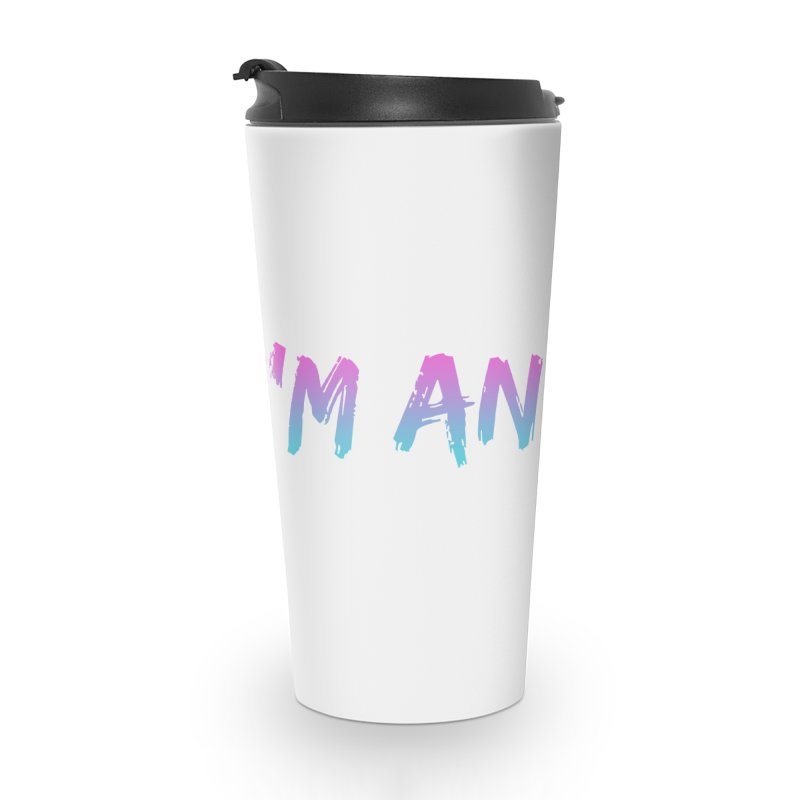 I'M ANXIETY (TRAN) Accessories Mug by uppercaseCHASE1