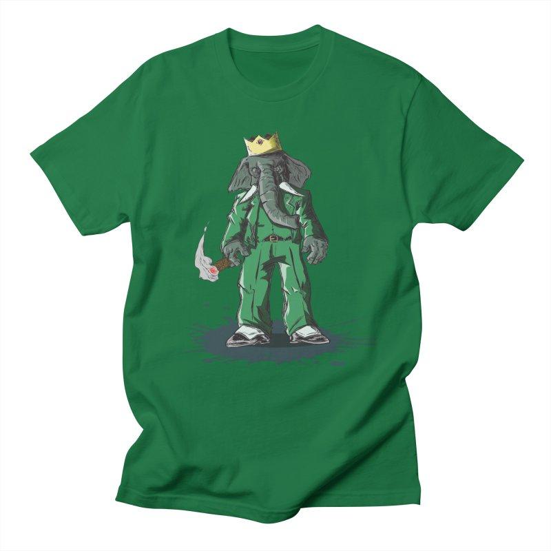 Elephant King Men's T-Shirt by Uppercut Justice