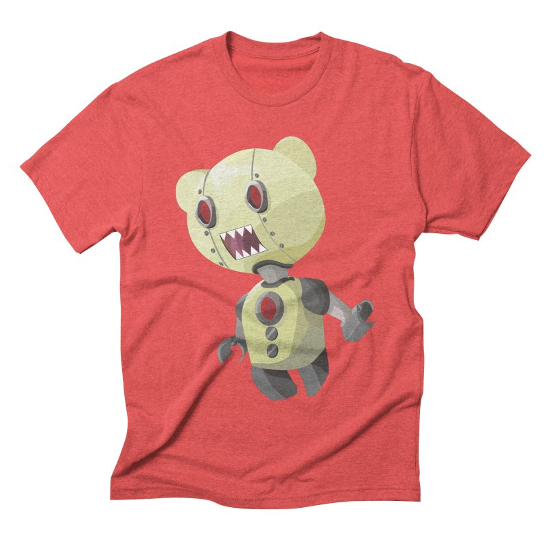 Robot Lyf Men's Triblend T-shirt by Uppercut Justice