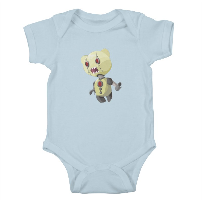 Robot Lyf Kids Baby Bodysuit by Uppercut Justice