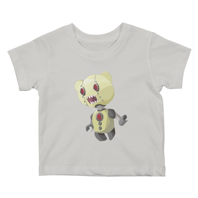 Robot Lyf Kids Baby T-Shirt by Uppercut Justice