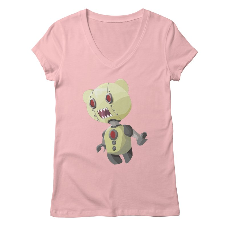 Robot Lyf Women's V-Neck by Uppercut Justice