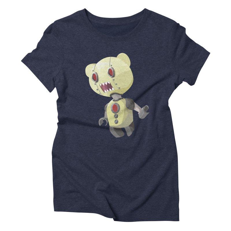 Robot Lyf Women's Triblend T-shirt by Uppercut Justice