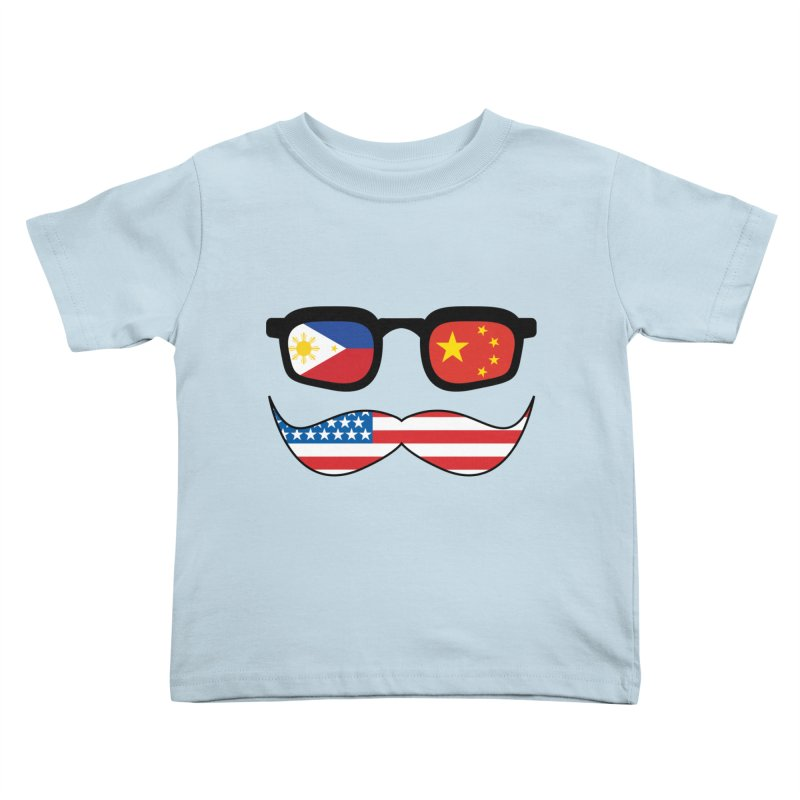 Chinoy Pride Kids Toddler T-Shirt by Uppercut Justice