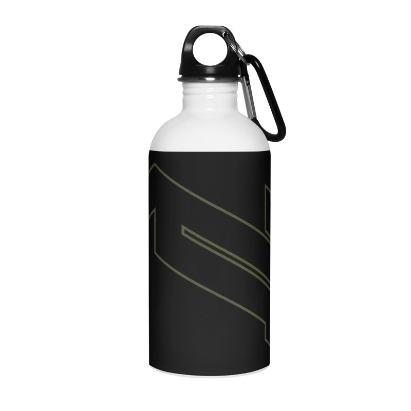 AKWIUS Hieroglyph I Accessories Water Bottle by Upper Realm Shop