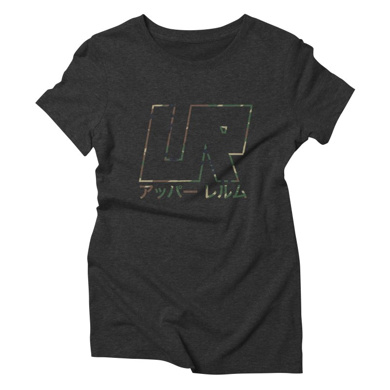 Upper Realm Women's Triblend T-Shirt by Upper Realm Shop