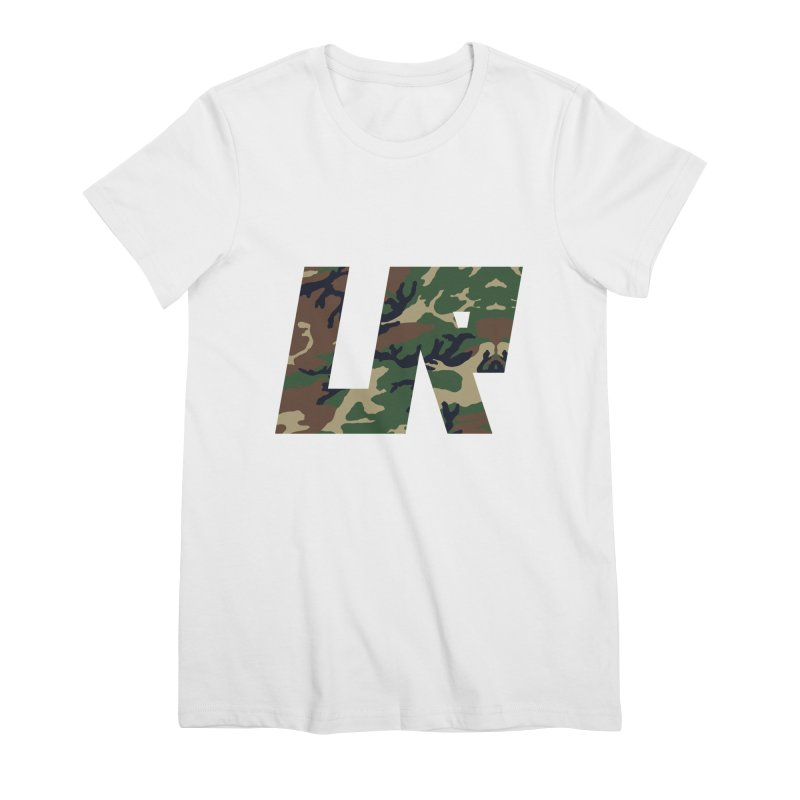 Upper Realm Camo Women's Premium T-Shirt by Upper Realm Shop
