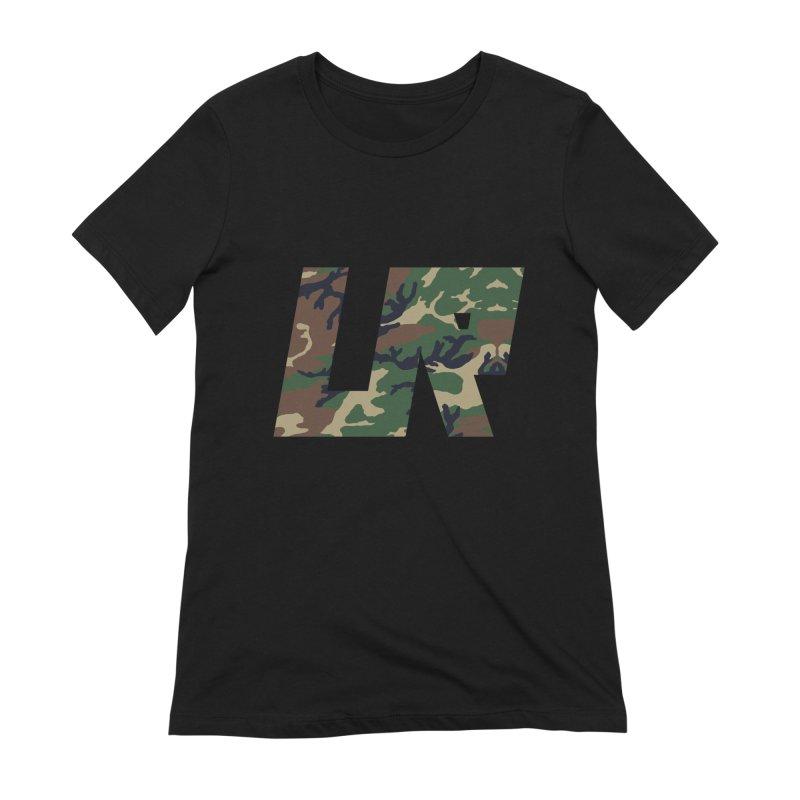 Upper Realm Camo Women's Extra Soft T-Shirt by Upper Realm Shop