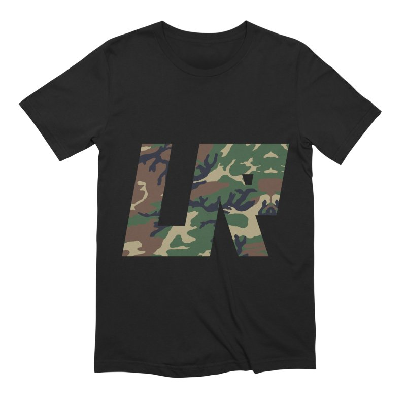 Upper Realm Camo Men's Extra Soft T-Shirt by Upper Realm Shop
