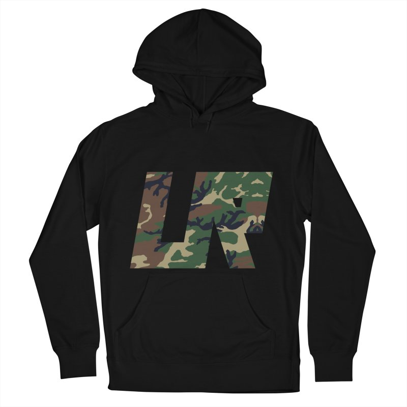 Upper Realm Camo Women's French Terry Pullover Hoody by Upper Realm Shop