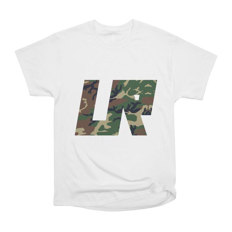 Upper Realm Camo Men's Heavyweight T-Shirt by Upper Realm Shop