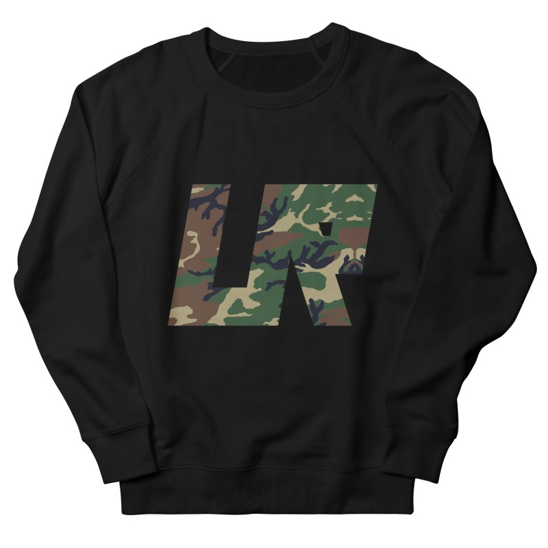 Upper Realm Camo Men's French Terry Sweatshirt by Upper Realm Shop
