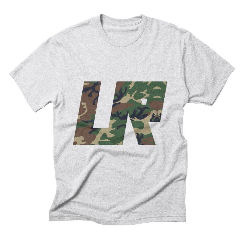 Upper Realm Camo Men's Triblend T-Shirt by Upper Realm Shop