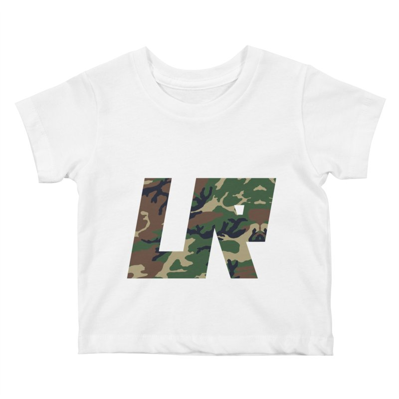 Upper Realm Camo Kids Baby T-Shirt by Upper Realm Shop