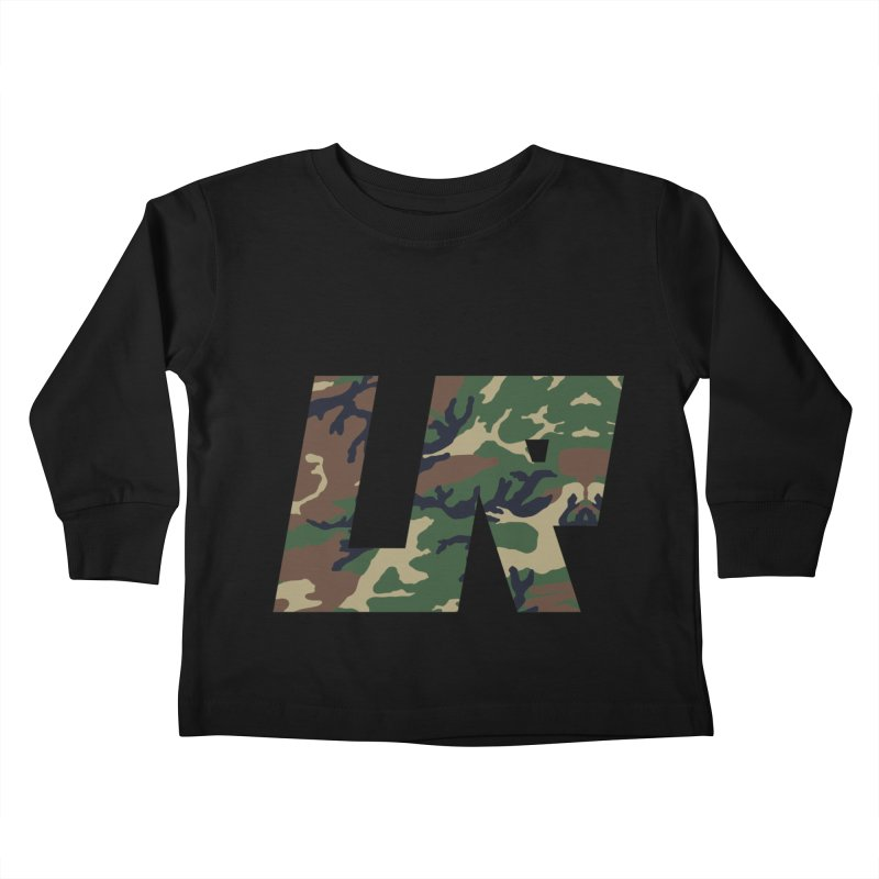 Upper Realm Camo Kids Toddler Longsleeve T-Shirt by Upper Realm Shop