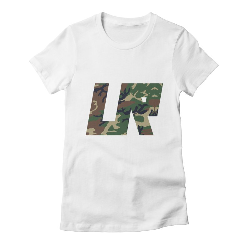 Upper Realm Camo Women's Fitted T-Shirt by Upper Realm Shop