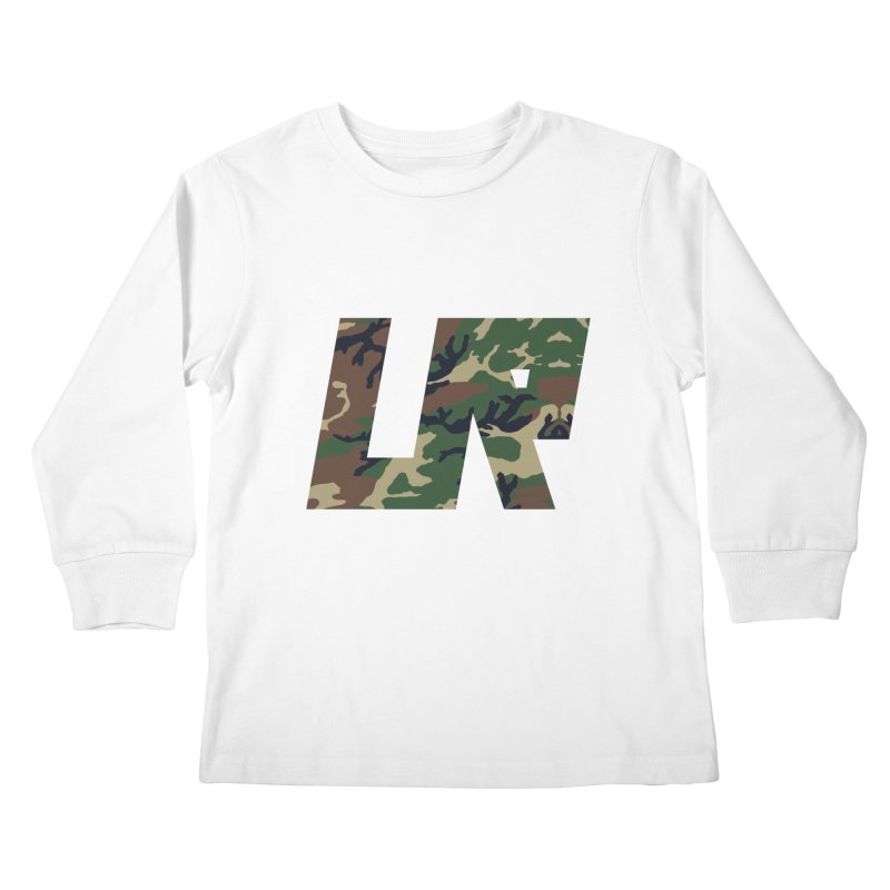 Upper Realm Camo Kids Longsleeve T-Shirt by Upper Realm Shop