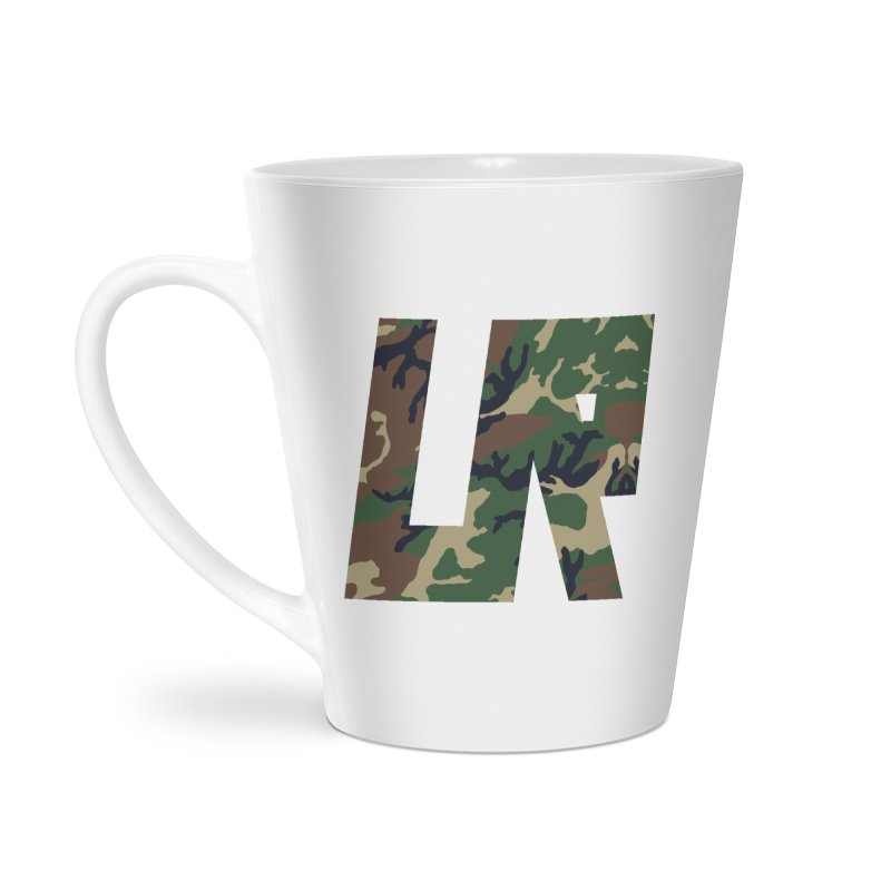 Upper Realm Camo Accessories Latte Mug by Upper Realm Shop