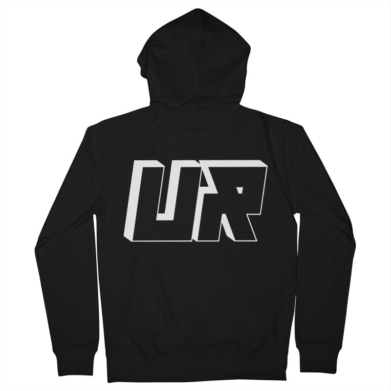 Upper Realm Black Women's Zip-Up Hoody by Upper Realm Shop