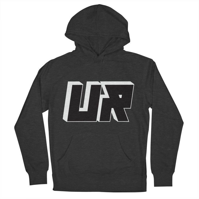 Upper Realm Black Women's French Terry Pullover Hoody by Upper Realm Shop