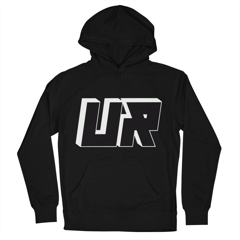 Upper Realm Black Men's French Terry Pullover Hoody by Upper Realm Shop