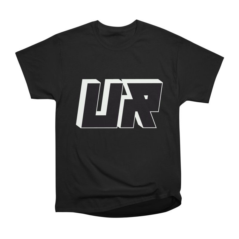 Upper Realm Black Men's Heavyweight T-Shirt by Upper Realm Shop