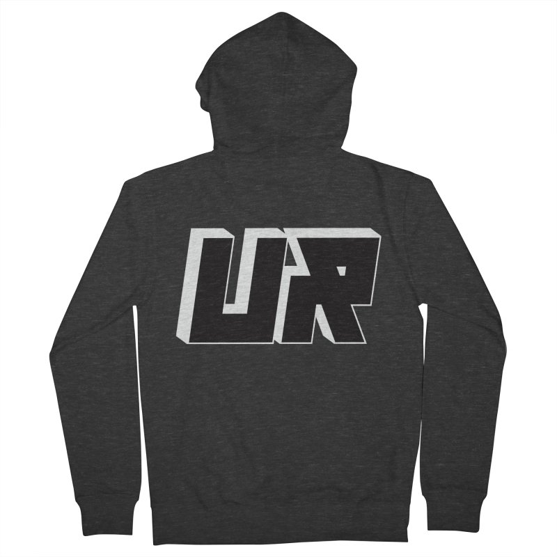 Upper Realm Black Men's French Terry Zip-Up Hoody by Upper Realm Shop