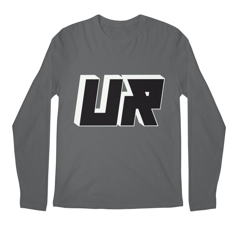 Upper Realm Black Men's Regular Longsleeve T-Shirt by Upper Realm Shop
